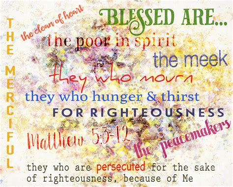 The Beatitudes Digital Art By Davy Cheng