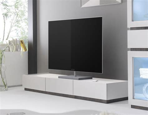 Banc Tv Gris by Meuble Tv 3 Tiroirs Gris Ou Blanc Laqu 233 Pas Cher Legos 3