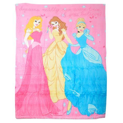 Sprei My Disney 120 Pink Princess childrens pink disney princess fleece blanket throw bedding one size 120x150cm