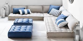 Oversized Floor L Tufted Floor Cushions Rh