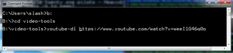 tutorial youtube dl youtube dl free command line software to easily download