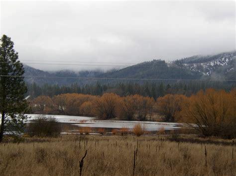 hauser idaho hauser id hauser lake fields and mountains photo