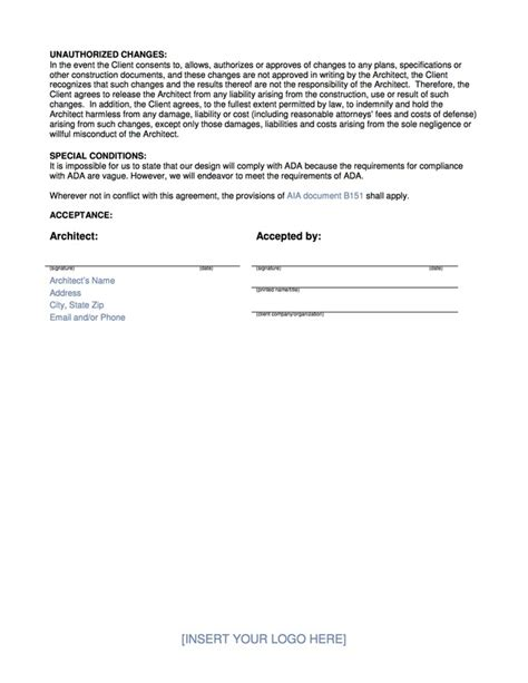 Wiki Blog Architekwiki Letter Of Engagement Template Contractor