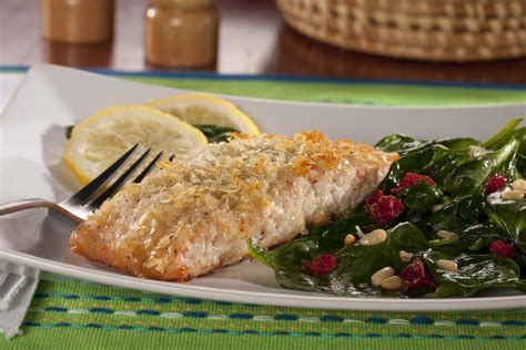 potato crusted salmon mrfood