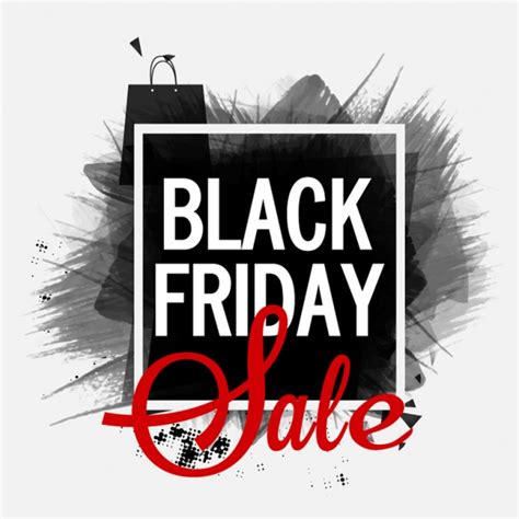 Black Friday Sale by Black Friday Sale Banner Vector Premium