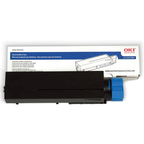 Toner Oki oki toner cartridge for b431d b431 dn printers 44574901