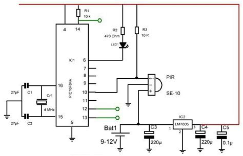 Датчики дыма схема подключения схема