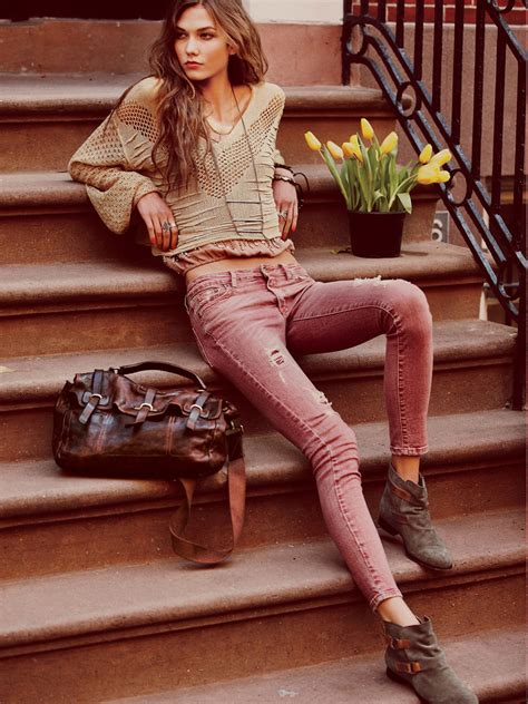 Fashion Freepeople by Karlie Kloss For Free January 2012