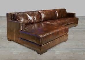 Lounge Sectional Sofa Brown Leather Sectional Sofa With Chaise Lounge