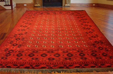 knotted rugs quality high quality knotted turkmen rug