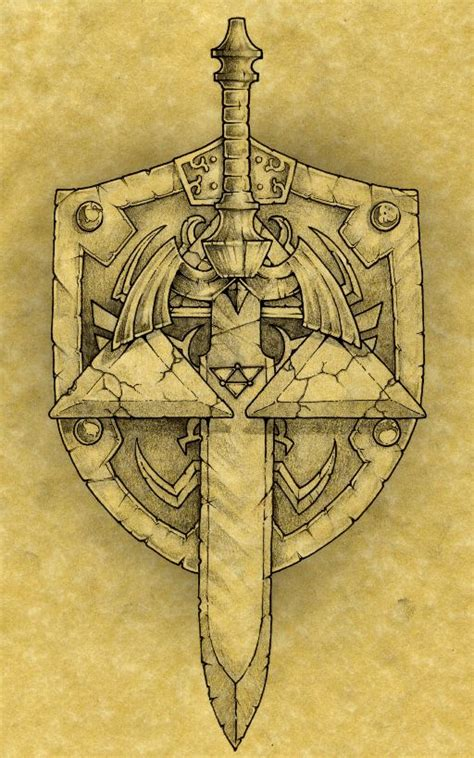 the hylian by noahw on deviantart tattoo ideas