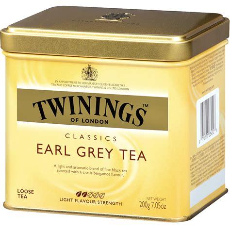 Twinings Earl Grey Tea twinings classics earl grey tea 7 05 oz 200 g