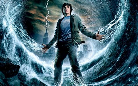 The Lighting Thief by Percy Jackson And The Lightning Thief Big Screen Nz