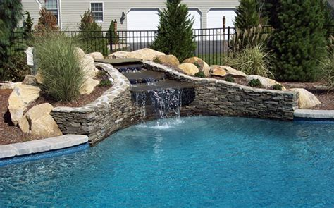 outdoor living waterscapes pools spas waterscapes archives et landscaping