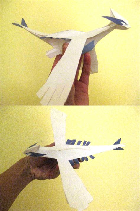 Lugia Papercraft - lugia papercraft by quanyails on deviantart