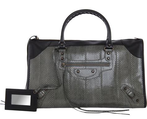 Bag Bliss Giveaway Balenciaga Brief Handbag Last Call by Balenciaga Adds Snakeskin To Its Repertoire Purseblog