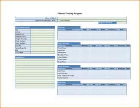 6 fitness plan template divorce document
