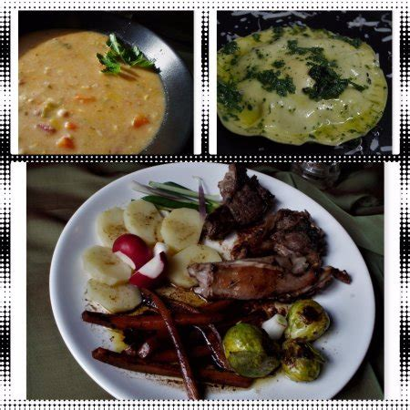 easter lunch side dishes easter lunch menu minestrone stuffed ravioli chops