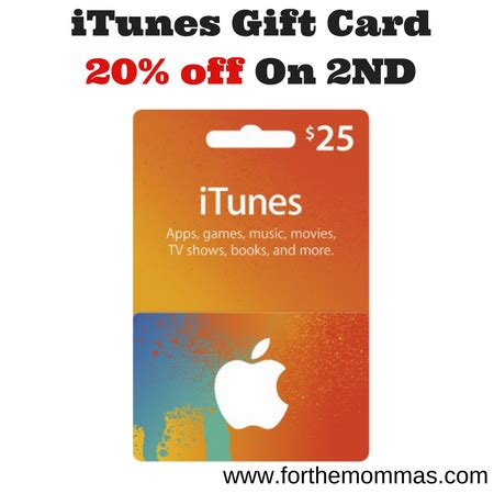 Purchase Online Itunes Gift Card - best buy buy 1 itunes gift card get 1 20 off ftm