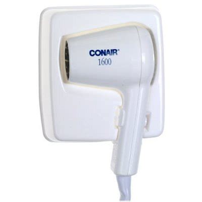 Hair Dryer Reviews Conair conair 110wmi wall mount hair dryer