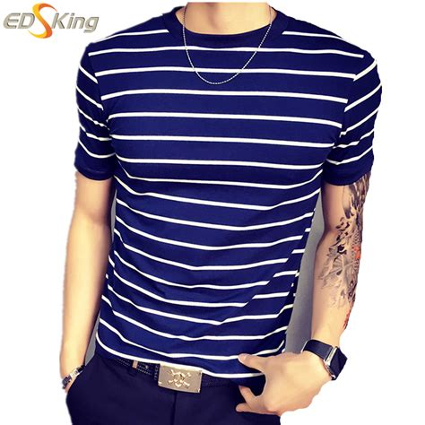 Tshirt Stripe Fashion Modern Indonesia buy wholesale white striped overalls from china