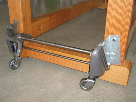work bench casters shopsmith forums sharing information about woodworking