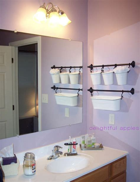 hanging baskets for bathroom master bath delightful apples decor ideas pinterest
