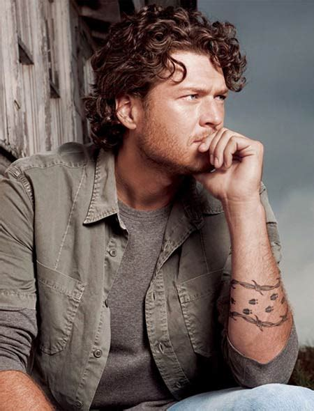 blake shelton s tattoo doesn t mean crap celebrity