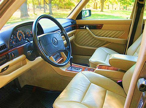 s class sedan interiors 1989 1991 classic cars today online