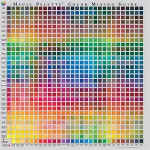 paint mixing colors the color wheel company studio magic palette color mixing