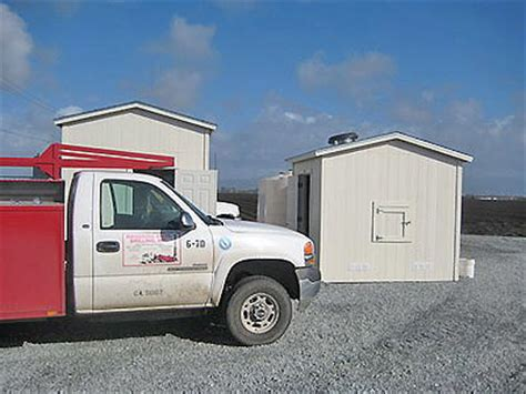 A Tool Shed Watsonville by California Custom Sheds Peak Roof Package