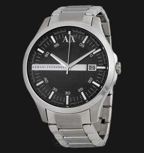 Jam Tangan Pria Stainless Armani armani exchange ax2103 black silver stainless steel