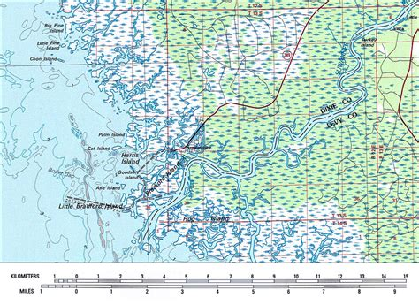 Convert Section Township Range To Gps by Suwannee River Area 1978