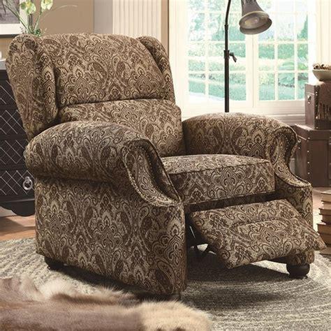 brown fabric recliner sofa brown fabric reclining chair a sofa furniture
