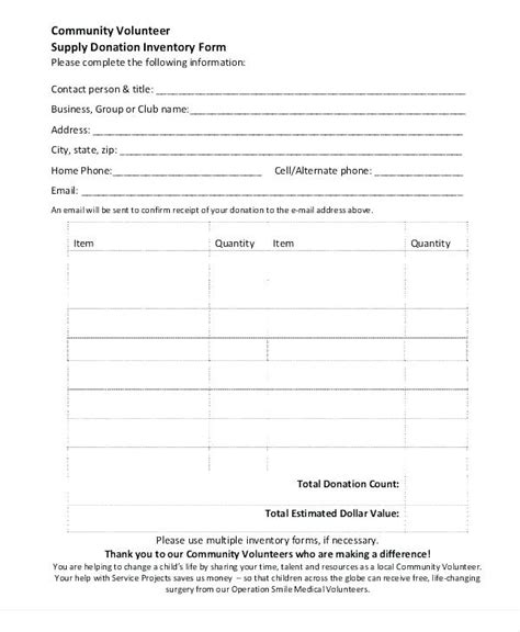salvation army donation receipt template volunteer tracking form template ideas exle