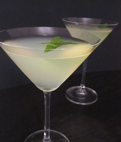 martini basil lemon basil martinis basil lemonade