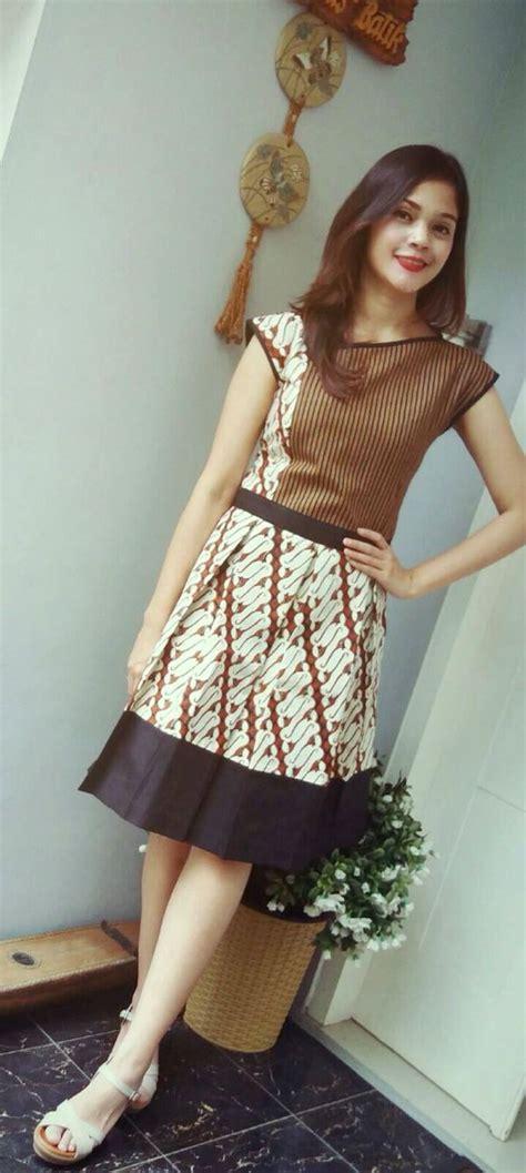 Dress Parang by Dress Batik Parang Combination By Batik Gendhis Batik