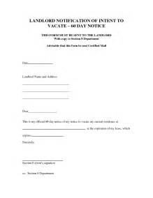 30 day move out notice template template 30 day notice to vacate http webdesign14