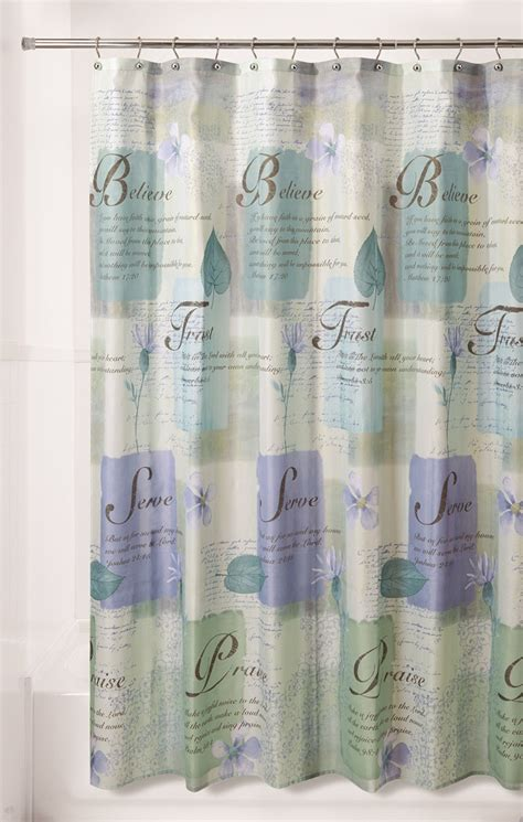 Kmart Bathroom Shower Curtains by Essential Home Shower Curtain Nature