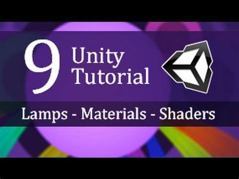 unity tutorial material 9 unity tutorial ls materials shaders create a