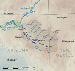 colorado river arizona map colorado river