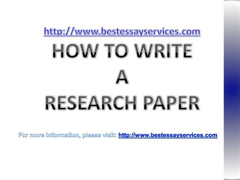 how to write a scholarly research paper how to writer research papers academic research papers