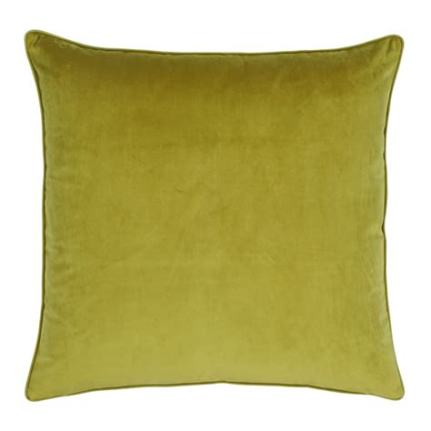 Buy Cushions by Buy Olive Velvet Cushion Cover Simply Cushions