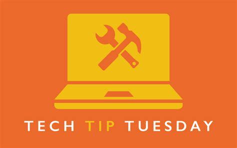 Tuesday Tech Tip Vista Tips by Allendale Columbia Introducing Tech Tip Tuesday How To
