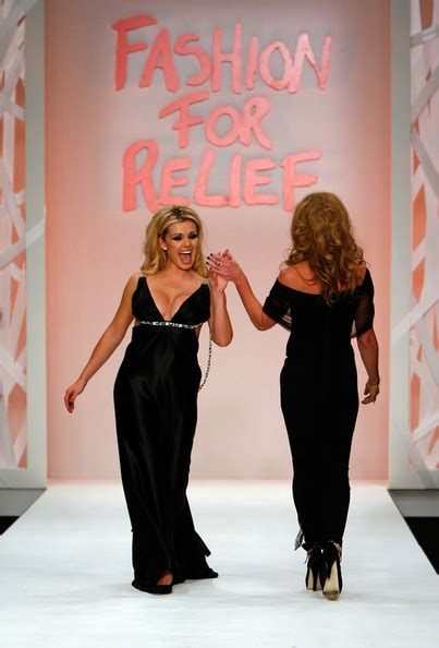 Katharines Runway Strut For Charity by Katherine Jenkins Pictures Fashion For Relief Lfw