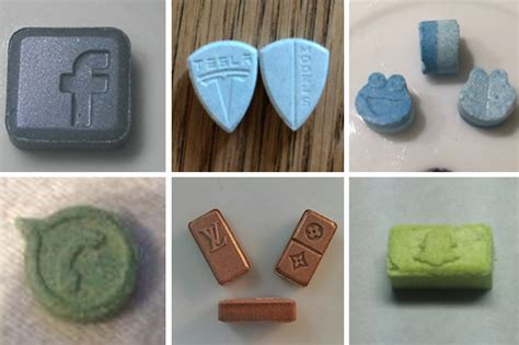 blue mitsubishi pill wolf cookie killer ecstasy tablets