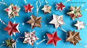 decora tu 193 rbol de navidad con estrellas de papel