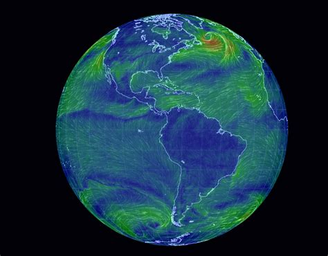earth wind map real time earth wind map