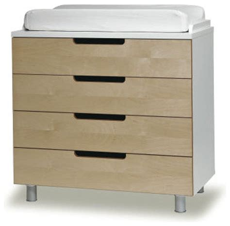 Changing Table Drawer by Oeuf 4 Drawer Changing Table Modern Changing Tables