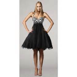 Black and white party dresses by terani thisnext